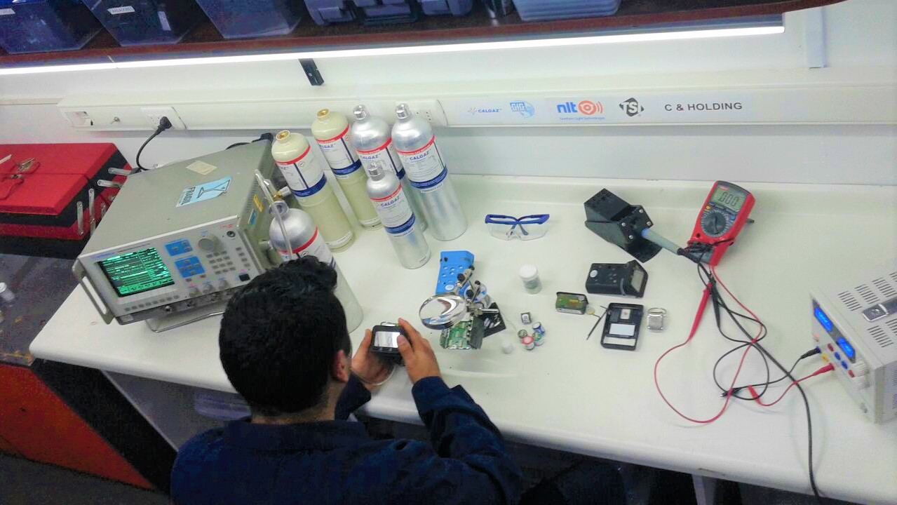 Calibracion detectores de gases