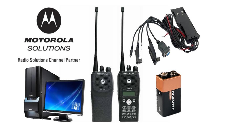RADIOS MOTOROLA Y SOLUCIONES MINERIA VHF.